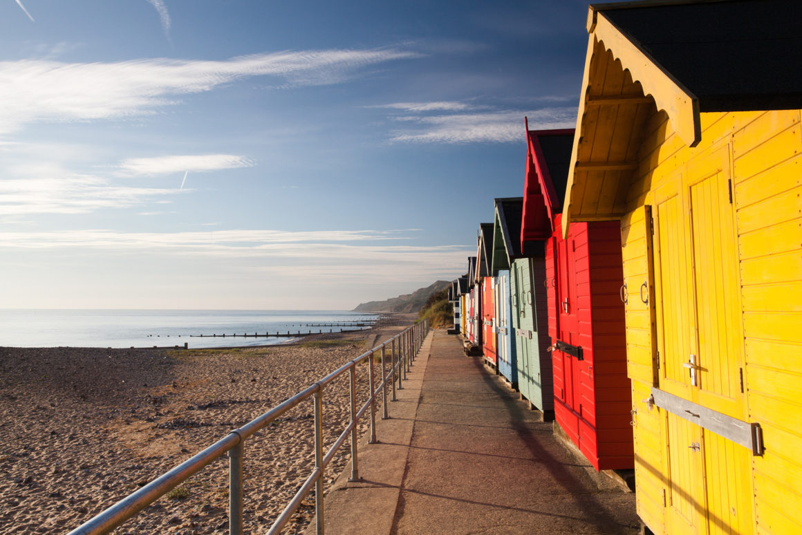 Milford-on-Sea beachhuts ready for summer