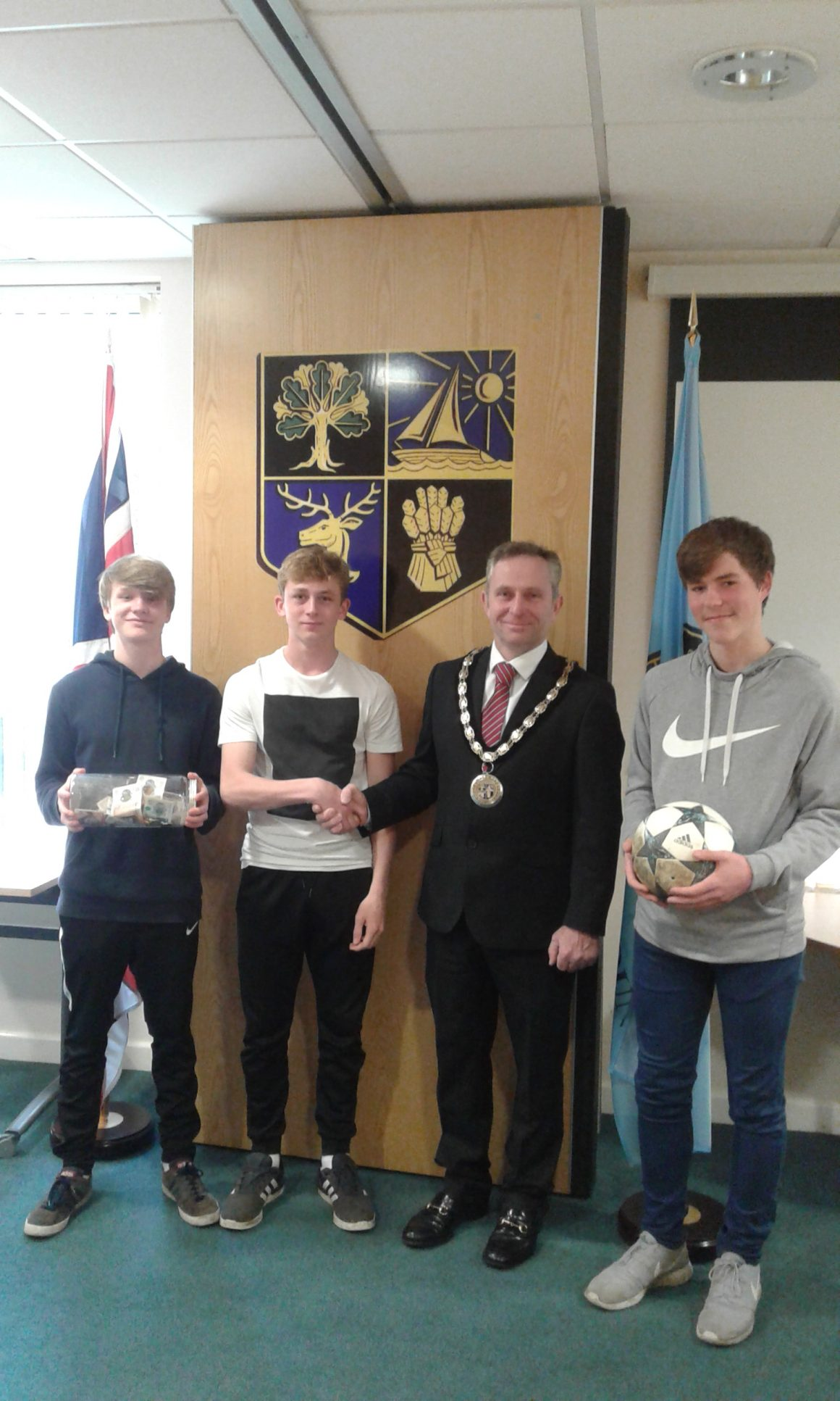 Students Football Donations