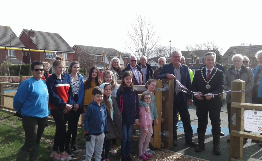 Doe Copse Way Play Park Opening