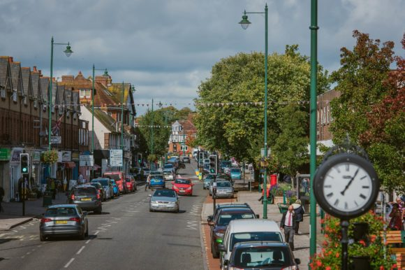 New Milton town centre traffic and pedestrian action plan