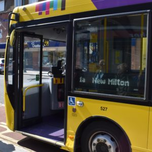 Successful services for busy buses
