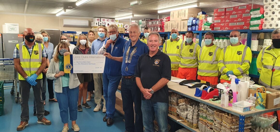 PRESS RELEASE – NEW MILTON LIONS LIVE UP TO THEIR MOTTO – 'TOGETHER WE SERVE'